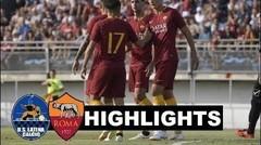 Hasil Pertandingan LATINA vs AS ROMA 0-9 Laga Persahabatan Tadi Malam 14 Juli 2018