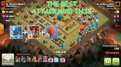 THE BEST ATTACK OF TH 12 WAR ALWAYS 3 STARS