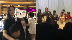 BLACKPINK Jisoo at Her Brother Wedding Party