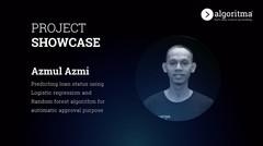Algoritma Student Project Showcase | Azmul Azmi | Cohort Gaia