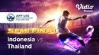 Full Match - Indonesia 0 vs 2 Thailand   Piala AFF U-15 2019