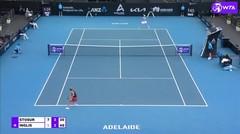 Match Highlights | Maddison Inglis 2 vs 1 Samantha Stosur | WTA Adelaide International 2021