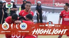 Full highlight - Semen Padang 1 vs 0 PSIS Semarang | Shopee Liga 1 2019/2020