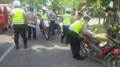 Jangan Ditiru, Kalau tidak Mau Ditilang Polisi, Nggak Boleh Marah Marah