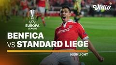 Highlight - Benfica vs Standard Liege I UEFA Europa League 2020/2021