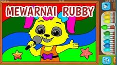 Belajar Menggambar dan Mewarnai Rubby si Kelinci!  Belajar untuk Anak PAUD dan TK #8