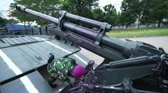 Manuver KAPA K-61 dan Howitzer