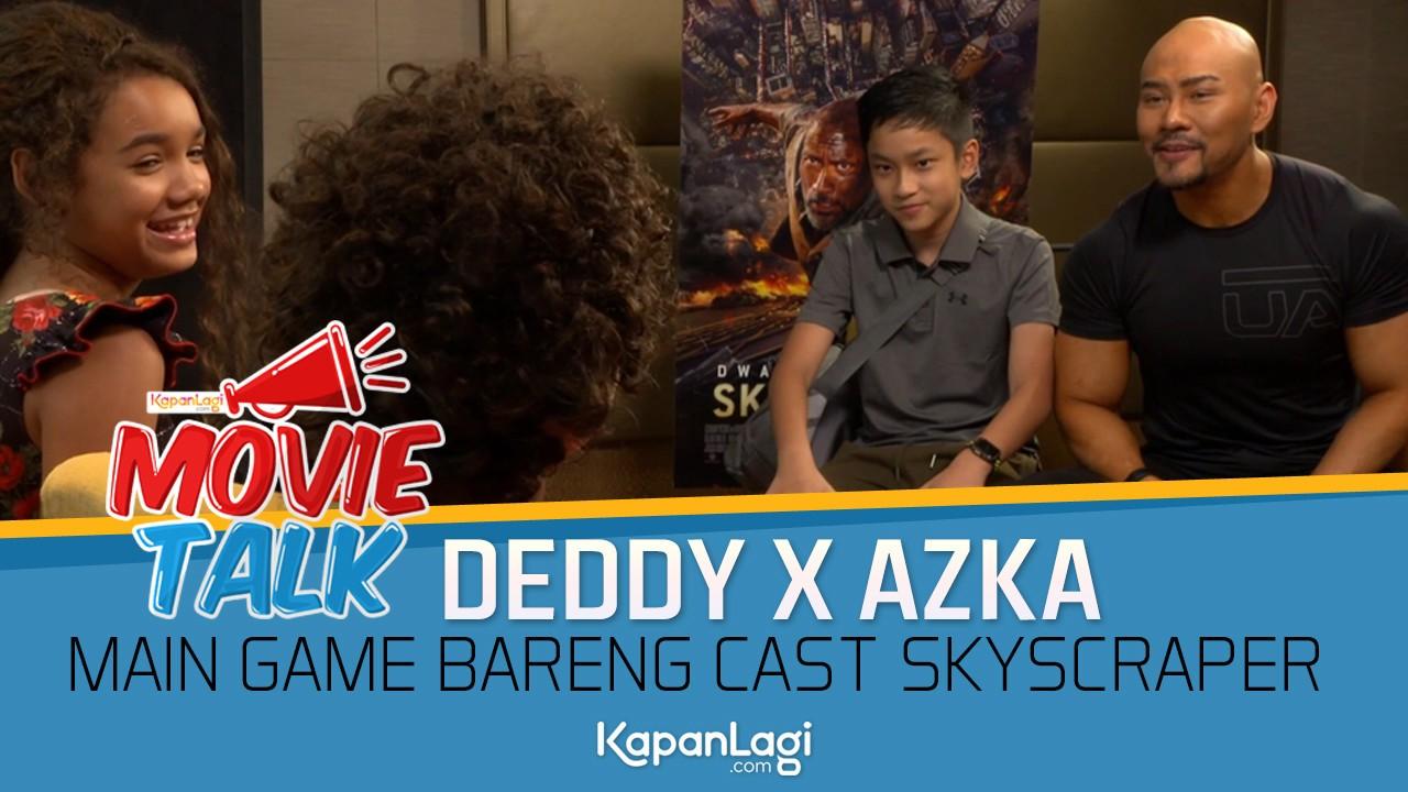 Deddy Corbuzier x Azka Ngajak Cast SKYSCRAPER Main Game