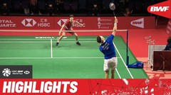 Match Highlight | Anders Antonsen (Denmark) 2 vs 1 Viktor Axelsen (Denmark) | BWF World Tour Finals 2021