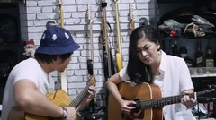 Uap Widya feat. Damez Nababan - The Sweetest Love ( Robin Thicke Cover )