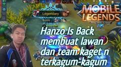 Hanzo Kembali kelapangan dan membantai semuanya