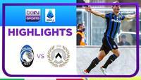 Match Highlights | Atalanta 1 vs 1 Udinese | Serie A 2021/2022