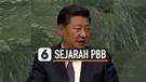 CHINA TEGASKAN DUKUNGAN UNTUK PBB