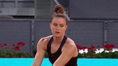 Match Highlights | Karolina Muchova 2 vs 1 Maria Sakkari | WTA Mutua Madrid Open 2021