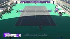 Match Highlights   Veronika Kudermetova 2 vs 0 Marta Kostyuk    WTA Abu Dhabi Open 2021