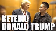 Satu lift sama Donald Trump??? #AGTDemian