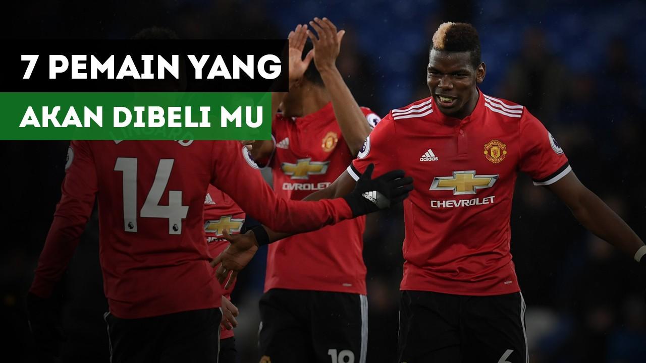 7 Pemain Yang Bisa Didatangkan Manchester United Vidio
