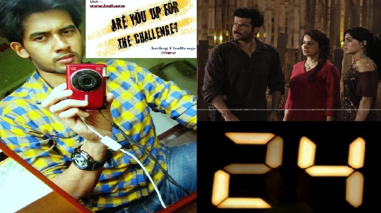 24 TV Series Opening Scene Remake (My Version) | Indi Best Actor Challenge-  #hero | Challenge accepted | 24 S1E1