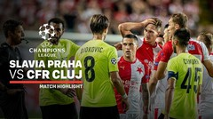 Full Highlight - Slavia Praha VS CFR Cluj | UEFA Champions League 2019/2020