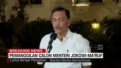 Luhut Binsar Panjaitan Merapat ke Istana, Penuhi Panggilan Presiden - AAS News TV