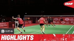 Match Highlight | Dechapol Puavaranukroh/Sapsiree Taerattanachai (Thailand) 2 vs 0 Thom Gicquel/Delphine Delrue (France) | BWF World Tour Finals 2021